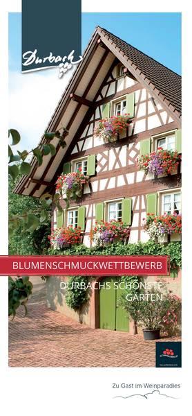 Durbacher Blumenschmuckwettbewerb 2017