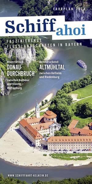 Schifffahrt im Donau- und Altmühltal - Fahrplan 2018