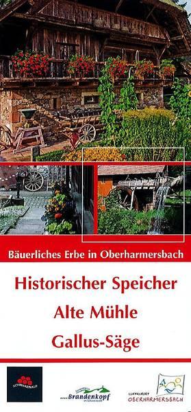 Historischer Speicher und Alte Mühle Oberharmersbach