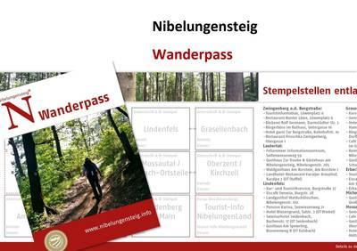 Wanderpass Nibelungensteig