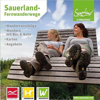 Sauerland-Fernwanderwege Booklet