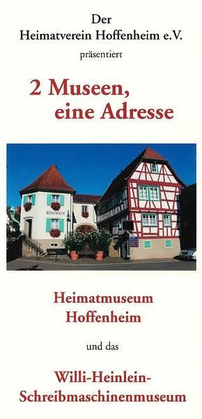 Heimatmuseum und Schreibmaschinenmuseum Hoffenheim