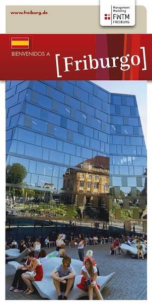 Plano de la Ciudad de Friburgo (en español)
