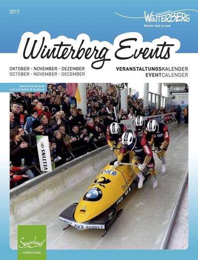 Veranstaltungskalender Oktober - Dezember 2017