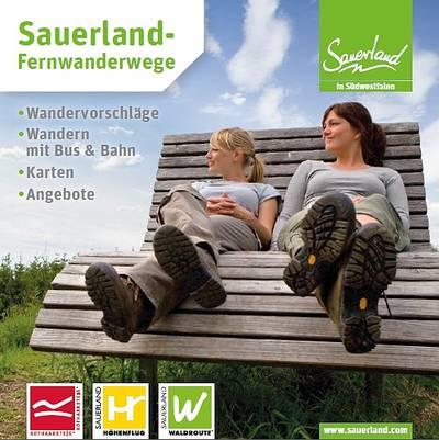 Fernwanderwege-Booklet
