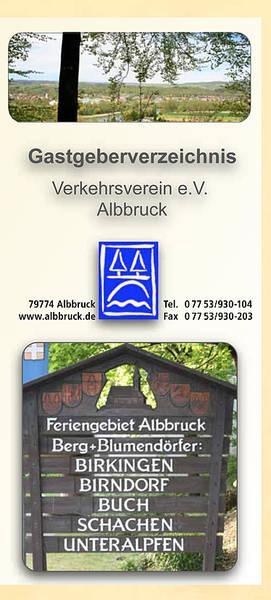 Unterkunftverzeichnis Albbruck