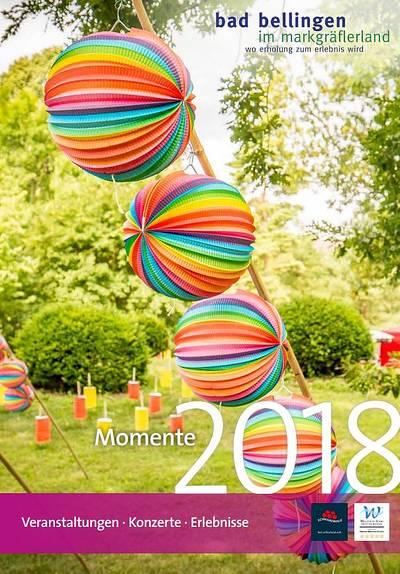 Veranstaltungskalender Momente 2018