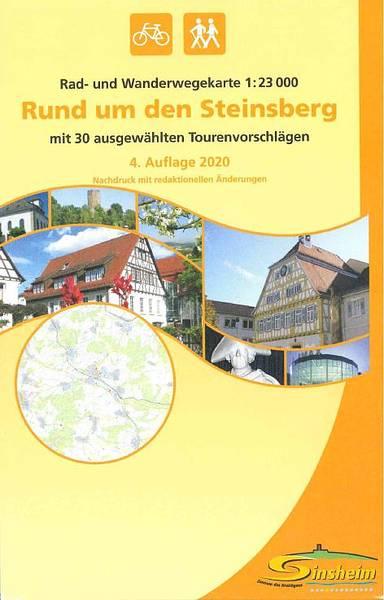 Rad- und Wanderkarte - Rund um den Steinsberg (4,90 EUR)
