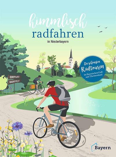 Himmlisch radfahren im Bayerischen Golf- und Thermenland