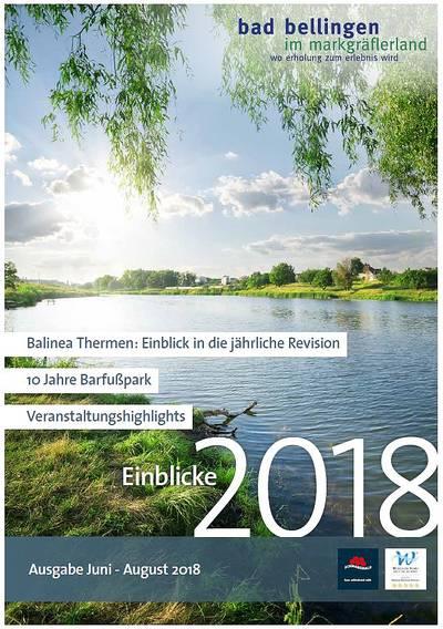 Einblicke 2018 Ausgabe Juni bis August 2018