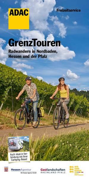 GrenzTouren - Radwandern in Nordbaden, Hessen und der Pfalz