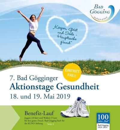 6. Bad Gögginger Aktionstage Gesundheit 2018