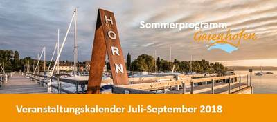Sommerkalender Gaienhofen
