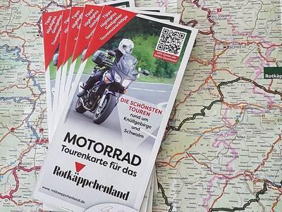Motorradtourenkarte
