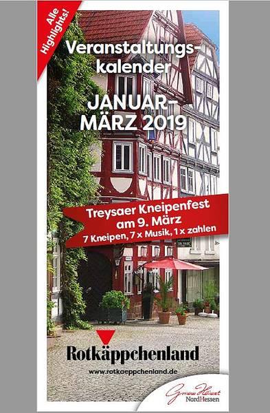 Veranstaltungskalender Januar - März 2019
