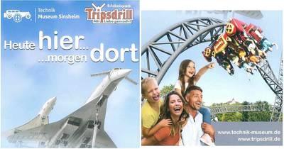 Erlebnispark Tripsdrill - heute hier - morgen dort