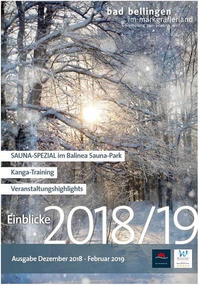 Einblicke 2018 - Ausgabe September bis November 2018