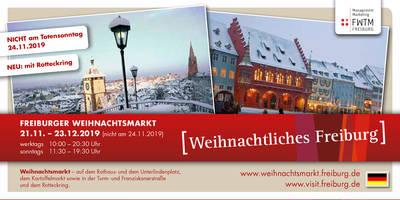 Weihnachtliches Freiburg 2019