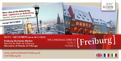 Marché de Noël de Fribourg en Breisgau 2018