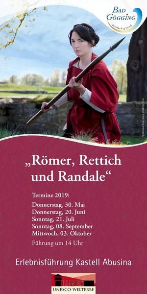 Erlebnisführung Römer, Rettich und Randale im Kastell Abusina