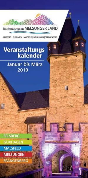 Veranstaltungskalender Melsunger Land Januar - März 2019