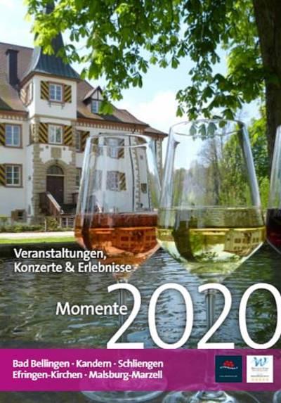 Veranstaltungskalender Momente 2020