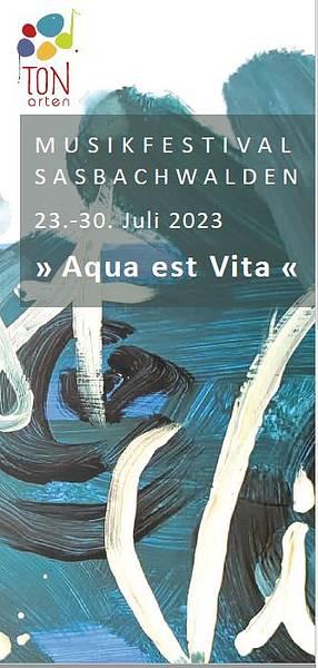 TONarten Musikfestival Flyer 2020