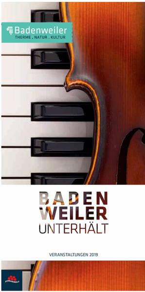 Badenweiler Veranstaltungen 2019