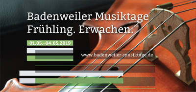 Flyer Musiktage 2019 - Frühjahr