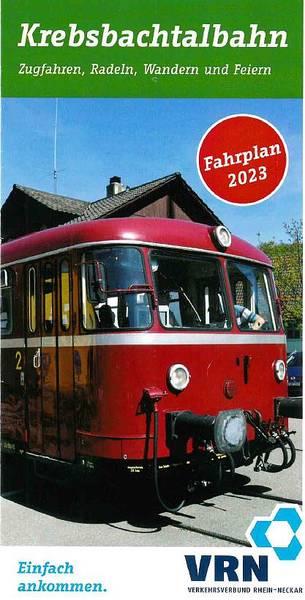 Krebsbachtalbahn - Zugfahren, Wandern und mehr