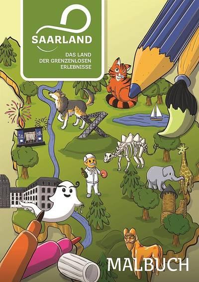 Saarland Malbuch