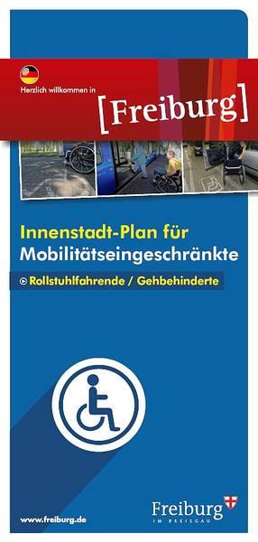 Innenstadtplan für Mobilitätseingeschränkte