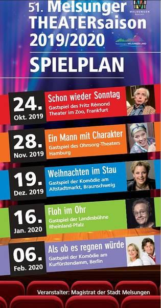 51. Melsunger Theatersaison 2019/2020