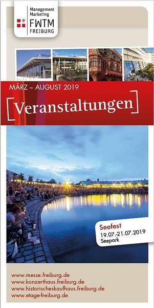 Veranstaltungsflyer März-September 2019