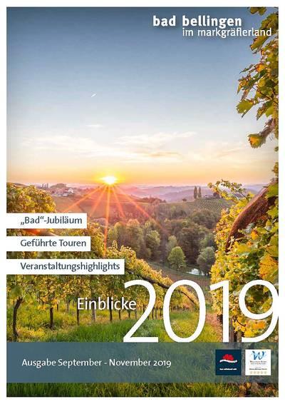 Einblicke 2019 - Ausgabe Juni bis August 2019