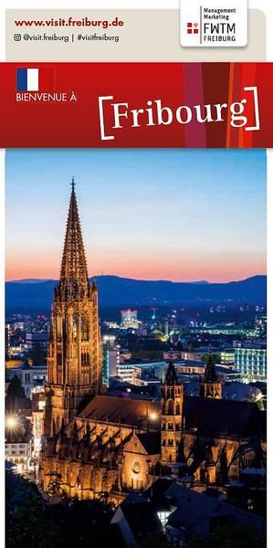 Freiburg Plan de Ville Francais