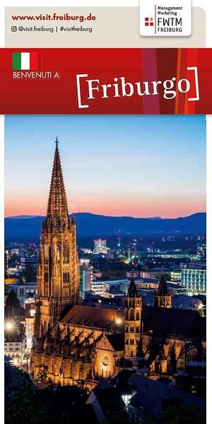 Freiburg Pianta della Città Italiano