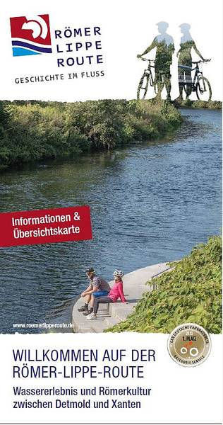 Flyer Römer-Lippe-Route