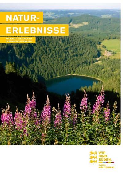 Naturerlebnisse Angebote für Gruppen in Baden-Württemberg