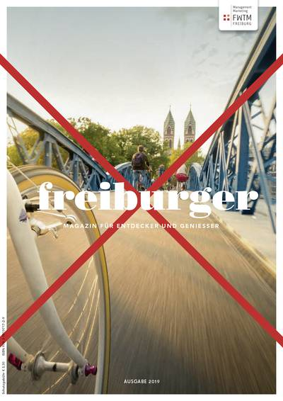 freiburger - Magazin für Entdecker und Genießer 2019