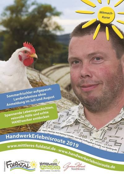Veranstaltungskalender HANDWERKERLEBNISROUTE 2019