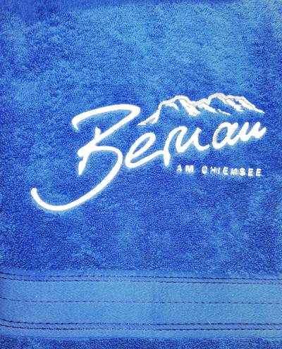 Badetuch Bernau am Chiemsee (groß)