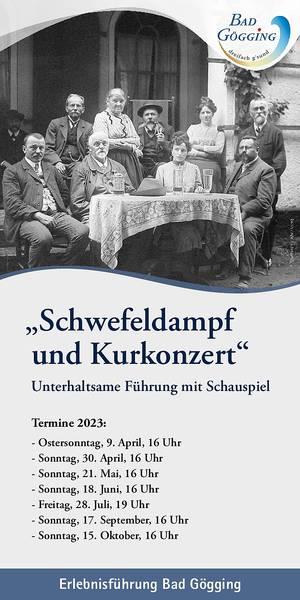 Erlebnisführung Schwefeldampf und Kurkonzert - Termine 2020