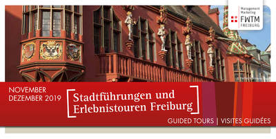 Guided City Tours November + December 2019