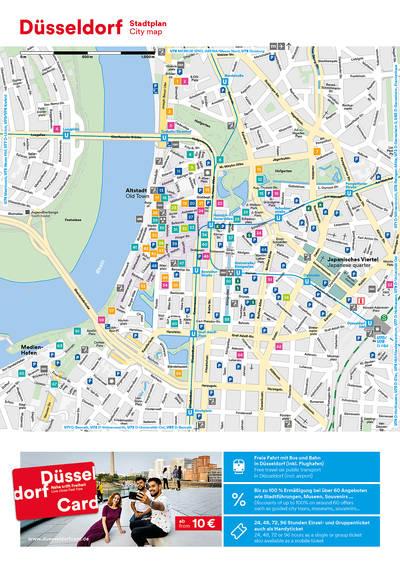 Stadtplan DE/EN