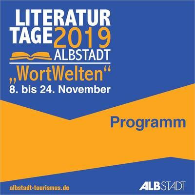 Programmheft Literaturtage 2019