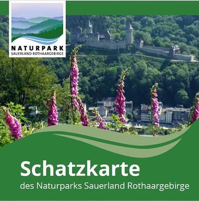 Schatzkarte Naturpark Sauerland Rothaargebirge