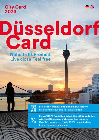 DüsseldorfCard Begleitheft DE/EN