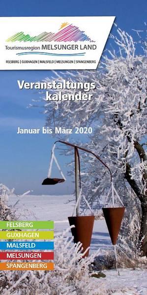 Veranstaltungskalender Melsunger Land Januar-März 2020