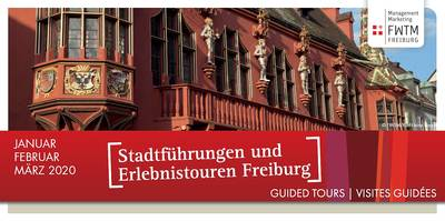 Guided City Tours January - March 2020